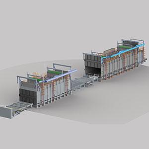 Lösungsglüh- und Auslagerungsöfen